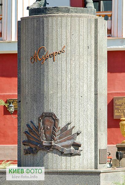 Памятник Александру Суворову в Киеве
