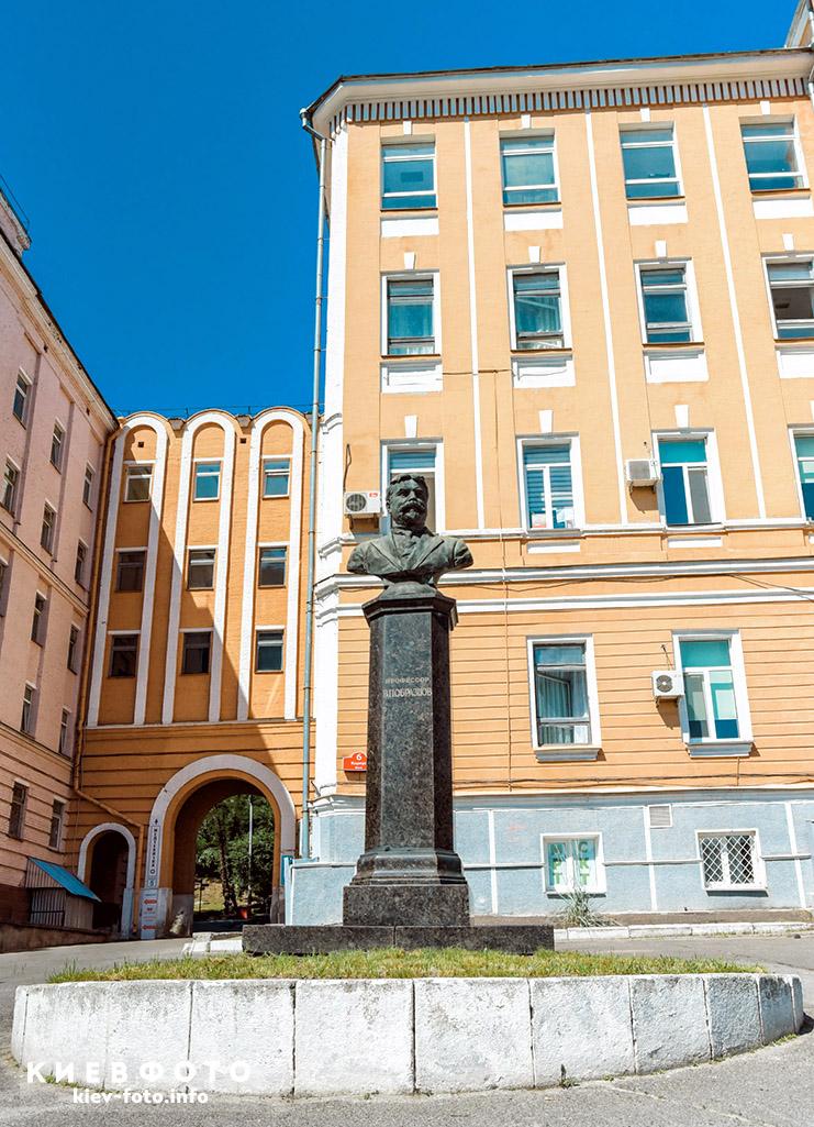 Памятник Василию Образцову в Киеве. kiev-foto.info