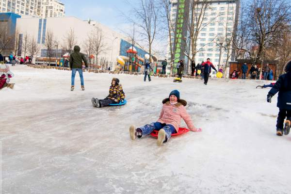 Зима как в детстве