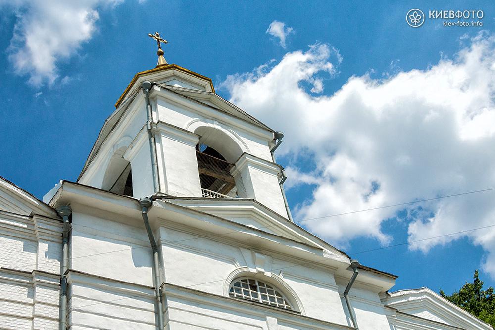 Крестовоздвиженская церковь на Подоле. Колокольня
