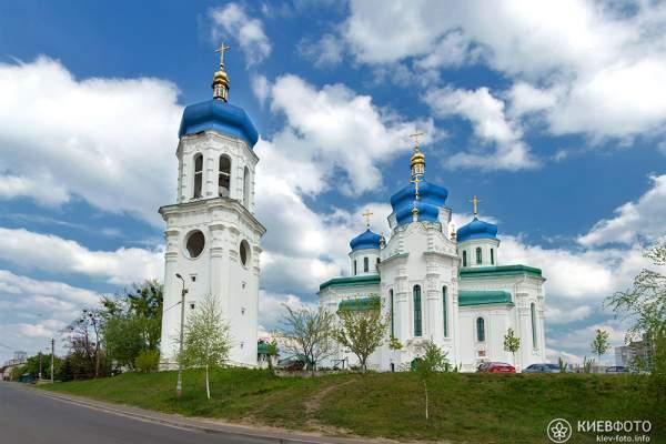 Православные церкви и соборы на Троещине (фото, информация, адреса, карта)